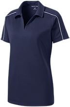 Maranatha Baptist Academy Crusaders Ladies Micropique Sport-Wick Piped Polo