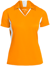 Agua Caliente Elementary School Coyotes Ladies Colorblock Performance Polo