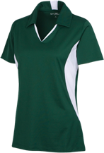 New Castle Chrysler High School Trojans Ladies Colorblock Performance Polo