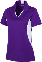 New Berlin Eisenhower High School  Lions Ladies Colorblock Performance Polo