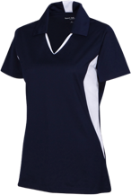 L H Day School Suns Ladies Colorblock Performance Polo