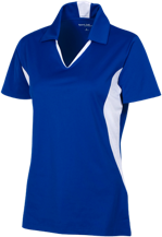 Henley Elementary School Honeybees Ladies Colorblock Performance Polo