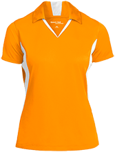 Bristol Bay Angels Ladies Colorblock Performance Polo