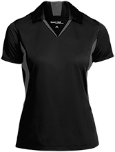 Sunapee Middle High School Lakers Ladies Colorblock Performance Polo