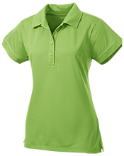 North Harford High School Hawks Ladies Contrast Stitch Performance Polo