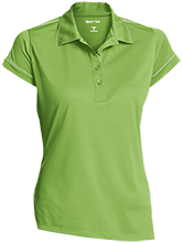 A C Reynolds Middle Rockets Ladies Contrast Stitch Performance Polo