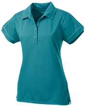 Kennedy Middle School Cougars Ladies Contrast Stitch Performance Polo