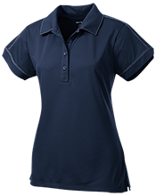 Maranatha Baptist Academy Crusaders Ladies Contrast Stitch Performance Polo