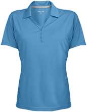Haddon Elementary School Little Bears Womens Micro-Mesh Y-Neck Polo