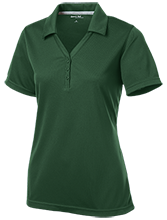 Saint Vincent De Paul School Vikings Womens Micro-Mesh Y-Neck Polo