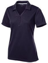 Early County High School Bobcats Womens Micro-Mesh Y-Neck Polo