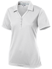 New Berlin Eisenhower High School  Lions Women's Micro-Mesh Y-Neck Polo