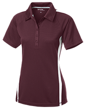 Madison Academy Mustangs Ladies' Custom Colorblock Three Button Polo