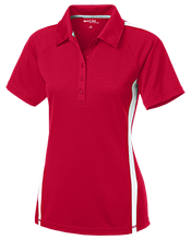 Loma Linda Elementary School Lobos Ladies' Custom Colorblock Three Button Polo