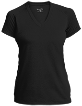 O J Dejonge School School Ladies Performance V-Neck T-Shirt