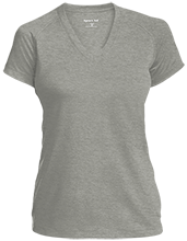 Academy Of World Languages School Ladies Performance V-Neck T-Shirt