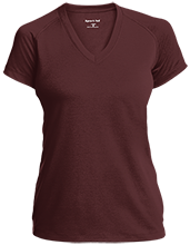 Molly Ockett MS School Ladies Performance V-Neck T-Shirt