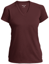 Dr Frederick H LaGarde Academy School Ladies Performance V-Neck T-Shirt