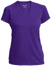 Rumson-Fair Haven H S Bulldogs Ladies Performance V-Neck T-Shirt