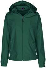 York County School Of Technology Spartans Ladies Jersey-Lined Hooded Windbreaker