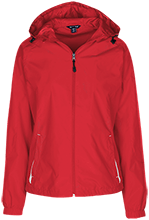 Fairview Elementary School Cardinals Ladies Jersey-Lined Hooded Windbreaker