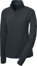 Friends School Quakers Womens Half Zip Performance Pullover