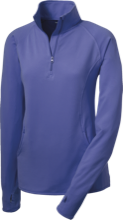 Kingsbury Elementary School Knights Womens Half Zip Performance Pullover