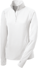 College Hill Middle School School Womens Half Zip Performance Pullover