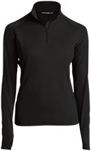 Wadsworth Middle School Womens Half Zip Performance Pullover