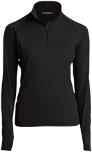 Laneville High School Yellowjackets Womens Half Zip Performance Pullover