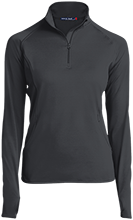 Black Bear Animal Rescue Animal Rescue Womens Half Zip Performance Pullover