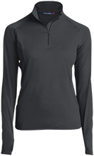 Lawrence West School Womens Half Zip Performance Pullover