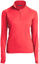 Parma Middle School Panthers Womens Half Zip Performance Pullover