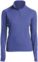 Abraham Lincoln Elementary School School Womens Half Zip Performance Pullover