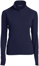 Lansing Eastern High School Quakers Womens Half Zip Performance Pullover