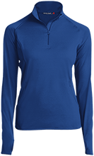 Malverne High School Womens Half Zip Performance Pullover