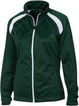 Janesville Parker High  School Vikings Ladies Raglan Sleeve Warmup Jacket