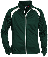York County School Of Technology Spartans Ladies Raglan Sleeve Warmup Jacket
