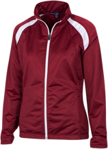 Herbert Hoover Middle School Knights Ladies Raglan Sleeve Warmup Jacket