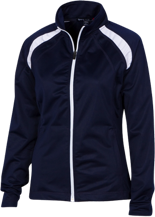 Saint John De La Salle Regional School Lions Ladies Raglan Sleeve Warmup Jacket