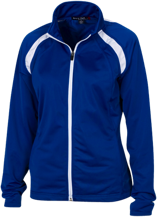 Duchesne Elementary School Dolphins Ladies Raglan Sleeve Warmup Jacket