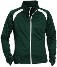 St. Francis Indians Football Ladies Raglan Sleeve Warmup Jacket