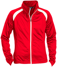 Edmonson Middle School  School Ladies Raglan Sleeve Warmup Jacket