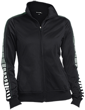 York County School Of Technology Spartans Ladies Dot Print Warm Up Jacket