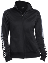 John Adams Middle School School Ladies Dot Print Warm Up Jacket