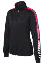 Alexander Hamilton Intermediate Hawks Ladies Dot Print Warm Up Jacket