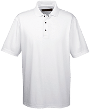 Gordon Elementary School Mustangs Men's Snap Placket Performance Polo