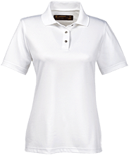 Reynolds Elementary School Ravens Ladies Snap Placket Performance Polo