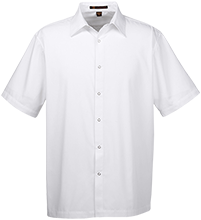 Hill & Plain Primary School School Men's Snap Closure Short Sleeve Shirt