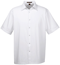 Eden Christian School Eagles Men's Snap Closure Short Sleeve Shirt